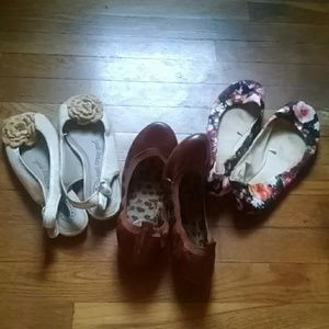 Shoe flat bundle 5.5 ballet slip on